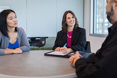Since taking over as chief human resources officer and assistant vice chancellor of Human Resources, Nicole Pollack has engaged in a cross-campus listening tour to work with campus partners to establish common goals.