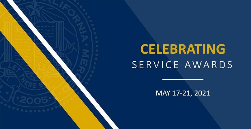 celebrating service awards